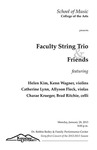 Faculty String Trio and Friends