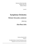 Symphony Orchestra featuring Alan Baer, tuba