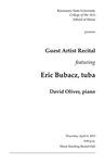 Guest Artist Recital featuring Eric Bubacz, tuba