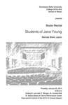 Studio Recital: Students of Jana Young