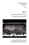 2014 Kennesaw State University Concert Band Invitational