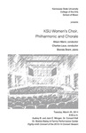 KSU Women's Choir, Philharmonic and Chorale