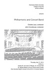 Philharmonic and Concert Band