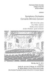 Symphony Orchestra Concerto Winners Concert
