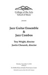 Jazz Guitar Ensemble and Jazz Combos