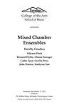 Mixed Chamber Ensembles