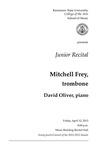 Junior Recital: Mitchell Frey, trombone