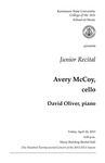 Junior Recital: Avery McCoy, cello