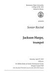 Senior Recital: Jackson Harpe, trumpet