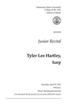 Junior Recital: Tyler Lee Hartley, harp