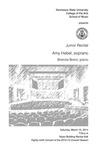 Junior Recital: Amy Hebel, soprano