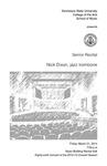 Senior Recital: Nick Dixon, jazz trombone