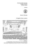 Senior Recital: Angela Anzai, piano