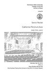 Senior Recital: Catherine Flinchum, flute