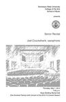 Senior Recital: Joel Cruickshank, saxophone