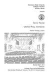 Senior Recital: Mitchell Frey, trombone