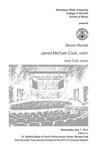 Senior Recital: Jarred Michael Cook, violin