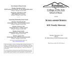 Scholarship Series: KSU Faculty Showcase