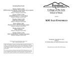 KSU Jazz Ensembles