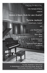Faculty Recital: Tyrone Jackson, jazz piano,