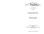 Guest Recital