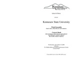 Kennesaw State University Wind Ensemble and Concert Band