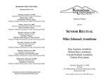 Senior Recital: Mike Ishmael, trombone