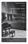 Faculty Recital: Faculty Chamber Players