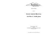 Guest Artist Recital: Jeri-Mae G. Astolfi, piano