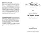 Junior Recital: Clay Mooney, baritone