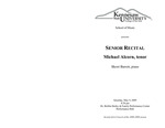 Senior Recital: Michael Alcorn, tenor