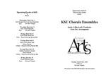 KSU Chorale Ensembles