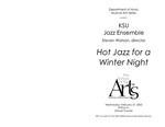 Jazz Ensemble: Hot Jazz for a Winter Night by Steven Watson