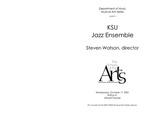 Jazz Ensemble by Steven Watson