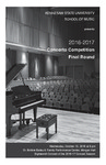 2016-17 Concerto Competition Final Round