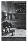 Jazz Combo I Senior Concert