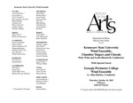 Wind Ensemble, Chamber Singers and Chorale