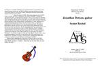 Senior Recital:Jonathan Dotson, guitar