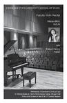 Faculty Violin Recital: Helen Kim, violin with Robert Henry, piano