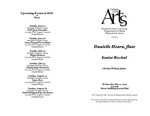 Senior Recital: Danielle Hearn, flute