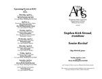 Senior Recital: Stephen Kirk Stroud, trombone