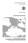 Senior Recital: Lane Hunter, percussion