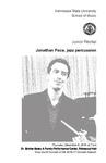 Junior Recital: Jonathan Pace, jazz percussion