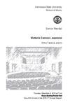 Senior Recital: Victoria Caracci, soprano