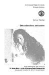 Senior Recital: Selena Sanchez, percussion