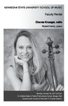 Faculty Recital: Charae Krueger, cello