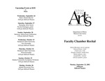 Faculty Chamber Recital