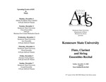 Flute, Clarinet and String Ensembles Recital