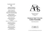 Kennesaw State University Guitar Ensemble