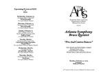 Atlanta Symphony Brass Quintet: Pro and Contra Dances